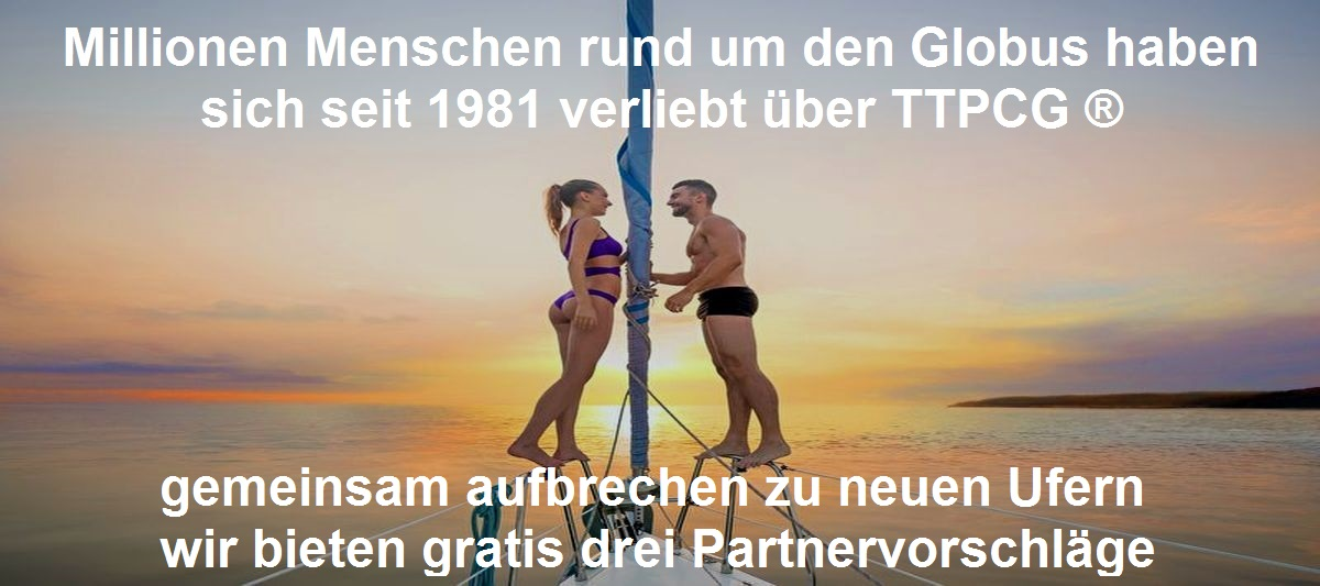 TTPCG DATING SERVICES ® - die Premiun Partnervermittlung